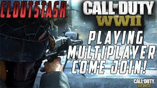 (PS4 PRO)Call of Duty WW2: ROAD TO 1ST PRESTIGE!!! Multiplayer Gameplay LiveStream!!!!!