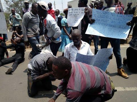 NASA anti-IEBC demonstrations enter fourth week