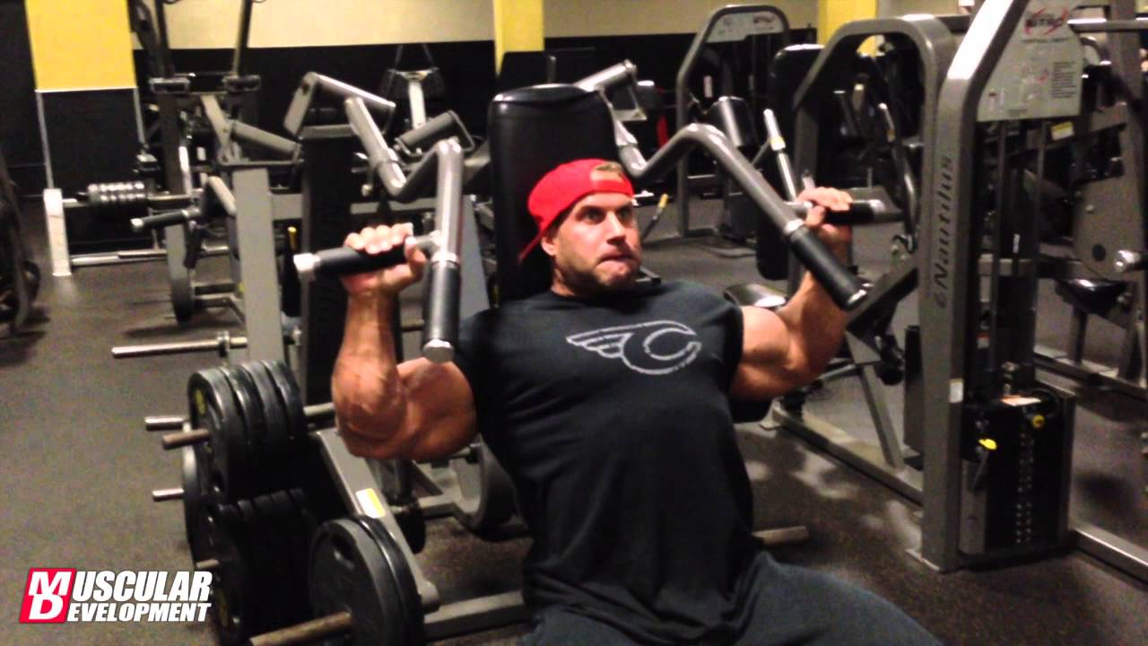 fb5a0c549 Jay Cutler trains delts at Golds Venice - YouTube