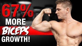 67% FASTER BICEPS GROWTH!   BIGGAHHH PEAKS NOW!