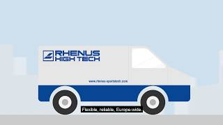 Rhenus Sportstech - Overview of the range of services
