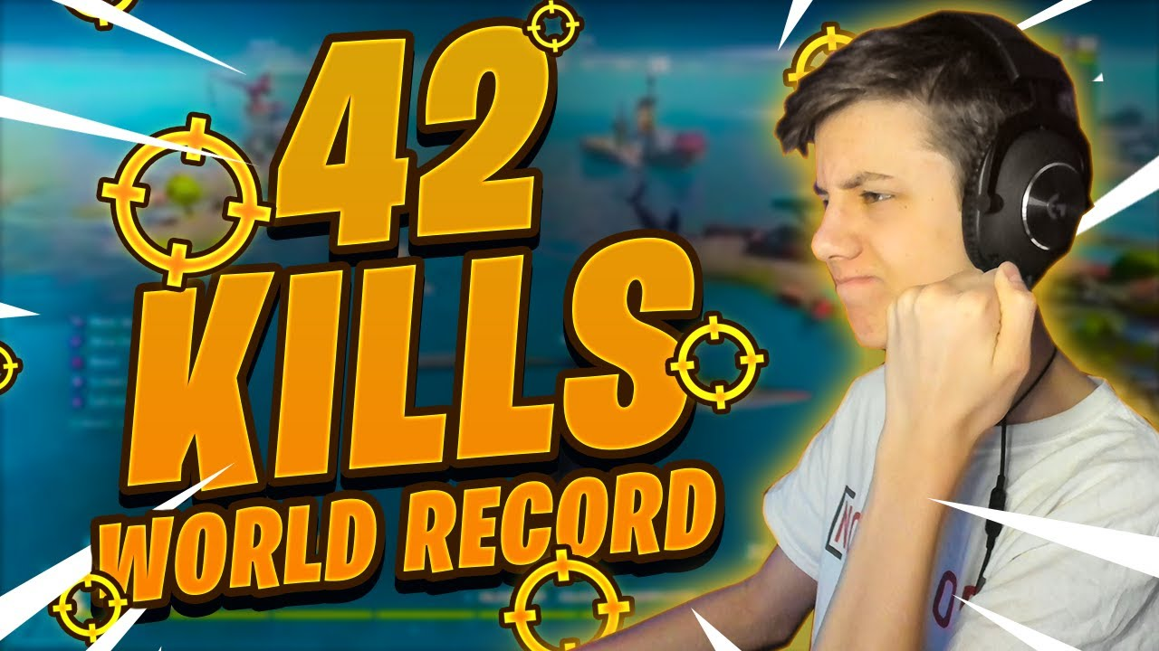 Breaking The Fortnite Kill World Record *INSANE*