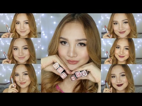 Maybelline Creamy Mattes in Brown Nudes | Swatches + Mini Review