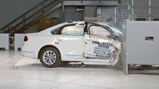 Volkswagen Passat 2017 IIHS Crash Test смотреть