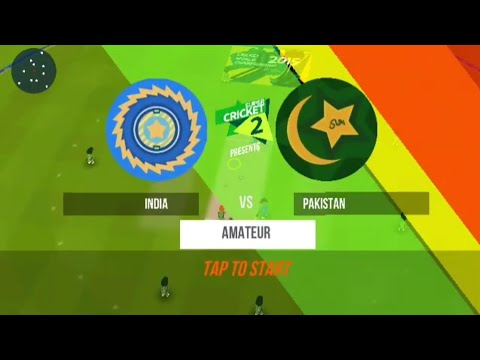 18th June ICC Champions Trophy Final India vs Pakistan SuperCricket 2 gameplay