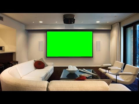 GREEN CROMA BACKGROUND | HOME ANIMATION VIDEO BACKGROUND