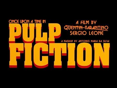 PULP FICTION BY SERGIO LEONE. ALTERNATE MOVIE MASHUP. AMDSFILMS