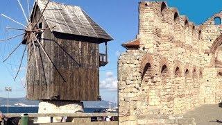 Обзорная видео экскурсия города Несебр, Болгария(Видео экскурсия по историческому городу Несебр. Прогулка по историческому центру и пляжу города Несебр., 2014-02-08T20:21:25.000Z)