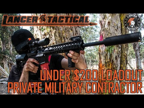 Under $200 Private Military Contractor (PMC) Loadout | Lancer Tactical