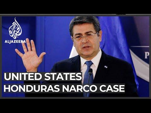 Honduran president denies drug trafficking charges by US prosecutors