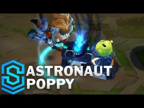 Astronaut Poppy Skin Spotlight - League of Legends