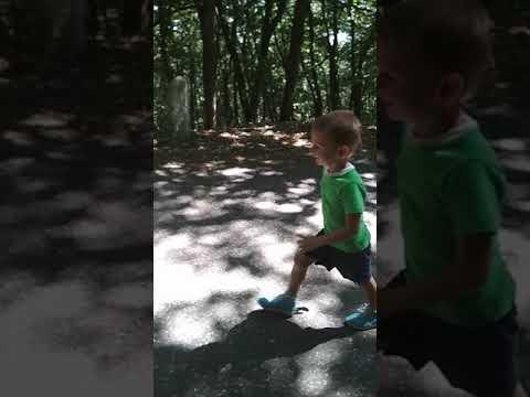 Фаддей, 4 года, победит в забеге на г. Машук
