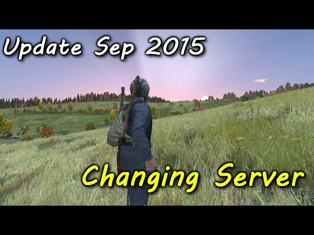 Update Sep 2015 Changing Server