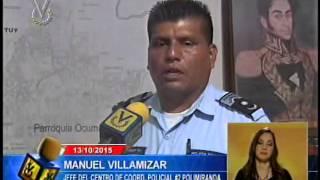 Abatidos cuatro delincuentes tras atacar con granadas sede de Policía de Ocumare del Tuy
