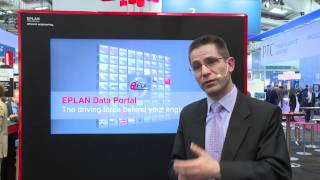 Lars de Bruin interview about Eplan on the Hannover Messe