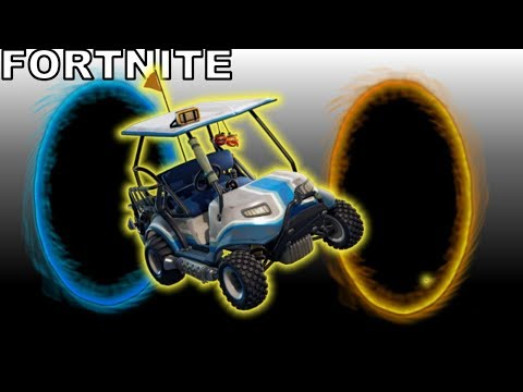 What Happens When You Drive An ATK Through A Rift/Portal In Fortnite?