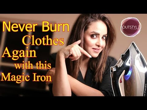Magic Steam Iron That Will Never Burn Your Clothes  | How To Steam Iron Shirt, Pant Or Other Clothes