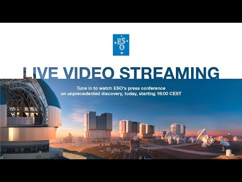 ESO Live Press Conference, 16 October 2017