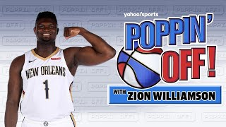 Zion Wants to Dunk on Everyone | #PoppinOff