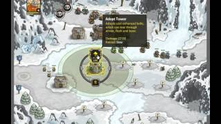 Kingdom Rush   Campaign   Level 18   Glacial Heights