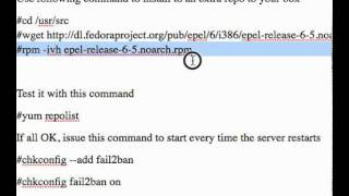 how to install fail2ban the easy way on your centos