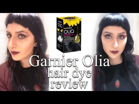 Olia Black hair dye review