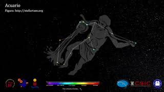 Constelaciones 3D. Acuario