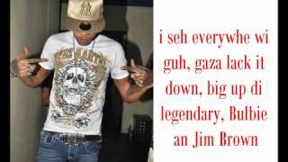Download Vybz Kartel - Welcome the outlaw {LYRICS ON SCREEN} June 2011. MP3 song and Music Video
