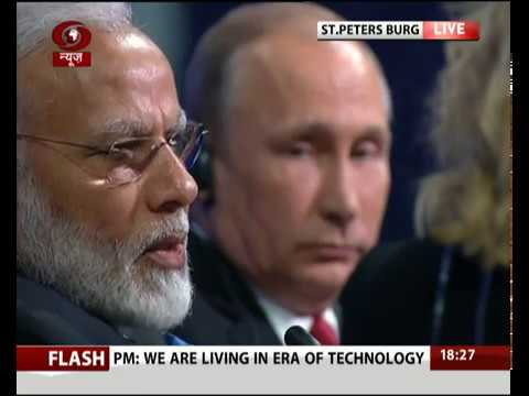 PM Modi attends plenary session of St. Petersburg International Economic Forum - Part 2