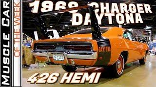 1969 Dodge Charger Daytona 426 Hemi | Muscle Car Of The Week Video Episode 334 V8TV