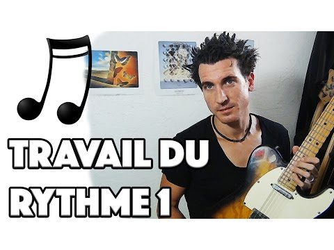 TRAVAIL DU RYTHME  A LA GUITARE 1 - LE GUITAR VLOG 080