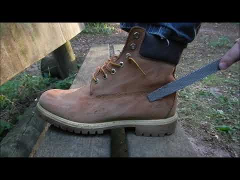 How to clean Timberland