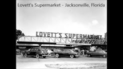 Old time Shopping in Jacksonville, Florida