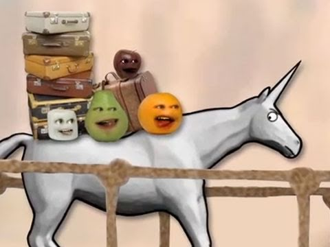 Annoying Orange - Annoying Orange meets Charlie the Unicorn (Spoof)