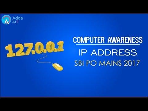 Computer Awareness | IP ADDRESS | SBI PO MAINS | Online Coaching for SBI IBPS Bank PO