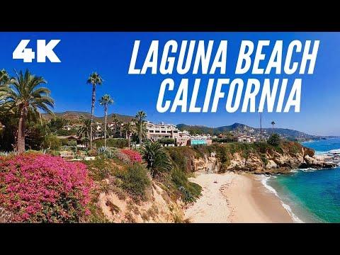 Laguna Beach - California - Walking Tour