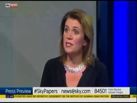Orlando attacks - Owen Jones walks off sky news studio set