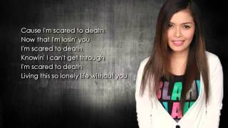 i m scared to death kz tandingan lyrics hd