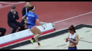 İnanılmaz bayan sporcu kazaları
