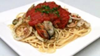 Spaghetti Marinara Barbecue Recipe