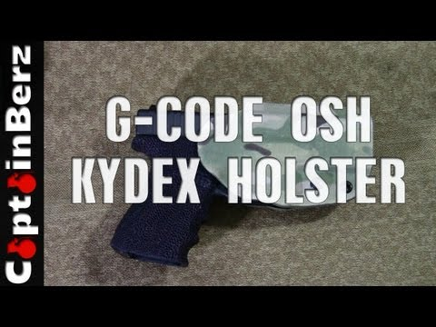 G-Code OSH Kydex Holster (RTI Attachment)