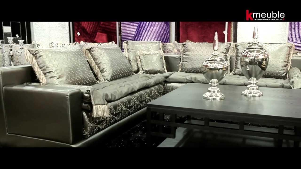SALON MAROCAIN KMEUBLE SPECIALISTE DU SALON ORIENTAL SUR MESURE  YouTube