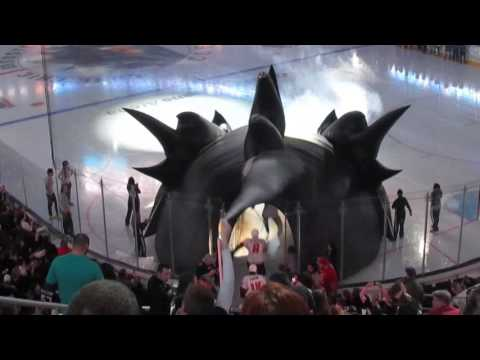 Lake Erie Monsters Playoff Entrance 2016