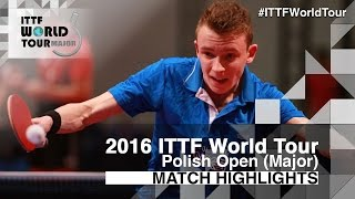 2016 Polish Open Highlights: Bai He vs Alexandre Robinot (Qual)(Review all the highlights from the Bai He vs Alexandre Robinot (Qual) Match from the 2016 ITTF Polish Open Subscribe here for more official Table Tennis ..., 2016-04-21T18:08:40.000Z)