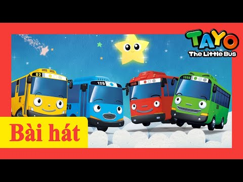 Bài hát l Vì Sao Lấp Lánh Bé Xinh (với lời bài hát) l Tayo Bài hát l Tayo xe buýt nhỏ