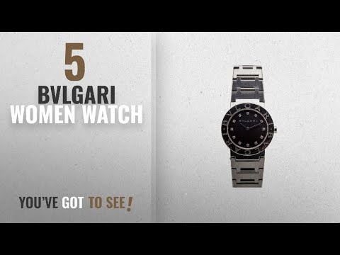 f80b9fc2613c1 Top 10 Bvlgari Women Watch [2018]: Bvlgari Bvlgari Bvlgari quartz womens  Watch BB26SS (Certified