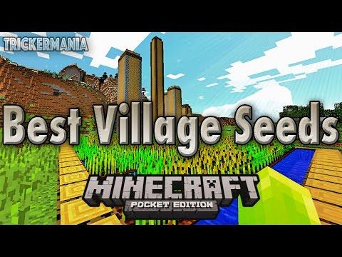 Minecraft PE 0.15.0   BEST VILLAGE SEEDS