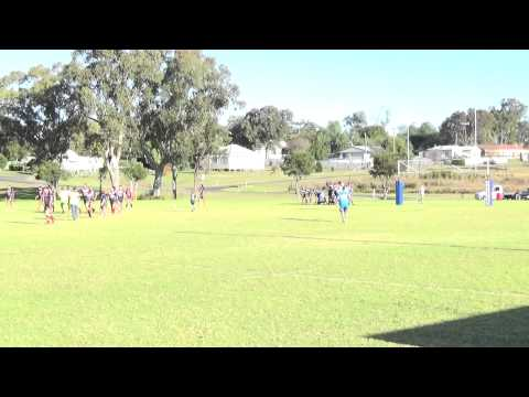 2015 - A Grade - Ashford vs Moree Boars - First Half