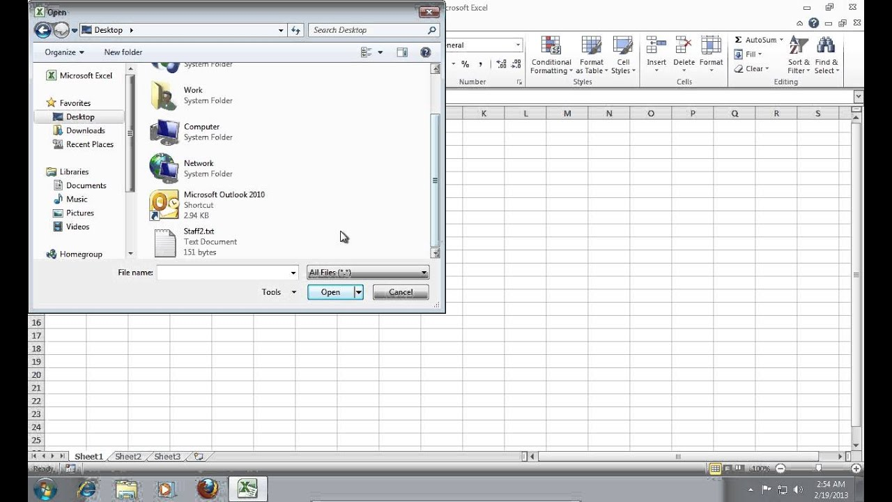 How to Import Outlook 2010 Distribution List into Excel