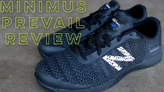 New Balance Minimus Prevail Review